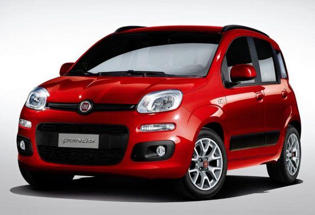 Auta mini - popularne - Fiat Panda