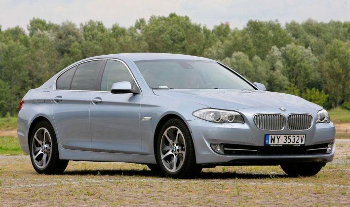 BMW 5 Active Hybrid - przód