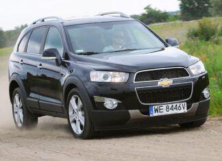 Używany Chevrolet Captiva (2006-2018) - opinie, dane techniczne, typowe usterki