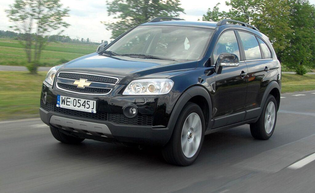 CHEVROLET Captiva I LT 3.2 V6 24V 230KM 5AT AWD 7-os WE0545J 05-2007