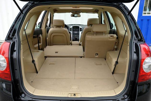 Chevrolet Captiva - bagażnik
