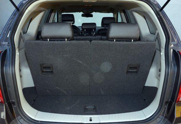 Chevrolet Captiva bagażnik (5)