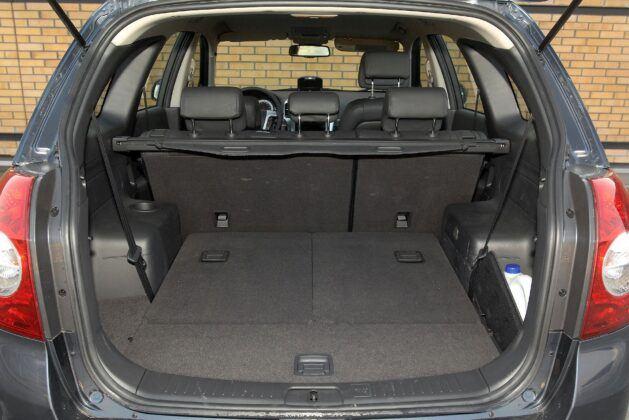 Chevrolet Captiva bagażnik