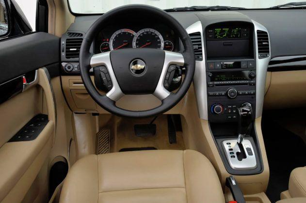 Chevrolet Captiva - deska rozdzielcza