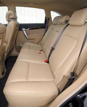 Chevrolet Captiva kanapa