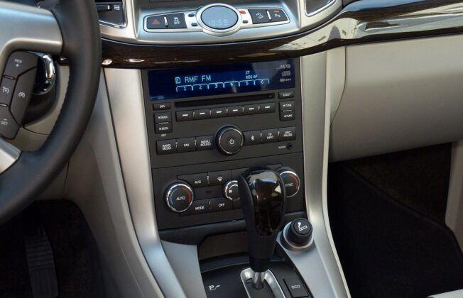 Chevrolet Captiva konsola środkowa