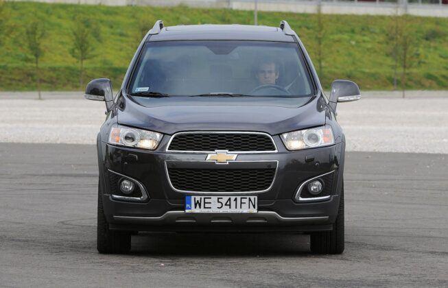 Chevrolet Captiva po liftingu