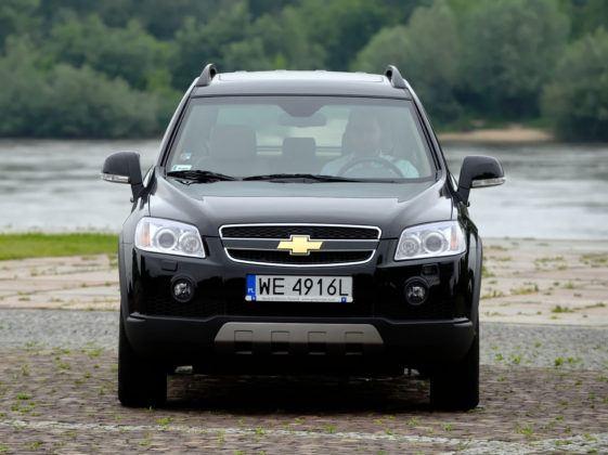 Chevrolet Captiva - przód