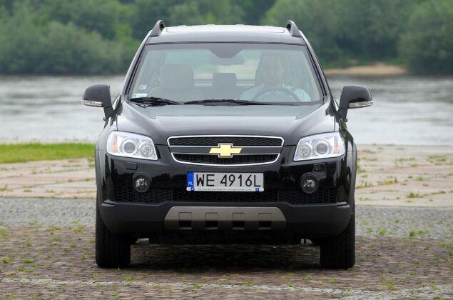 Chevrolet Captiva przed liftingiem