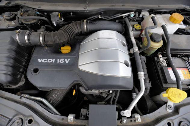 Chevrolet Captiva - silnik