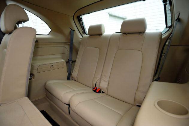 Chevrolet Captiva - trzeci rząd siedzeń