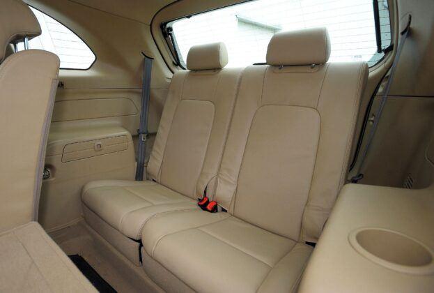 Chevrolet Captiva trzeci rząd siedzeń