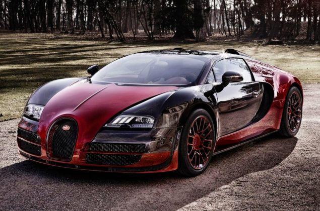 Cristiano Ronaldo - Bugatti Veyron Grand Sport
