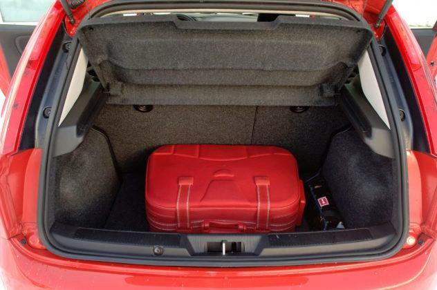 Fiat Grande Punto - bagażnik