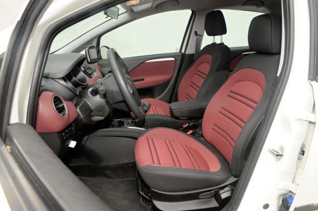 Fiat Grande Punto - fotel kierowcy