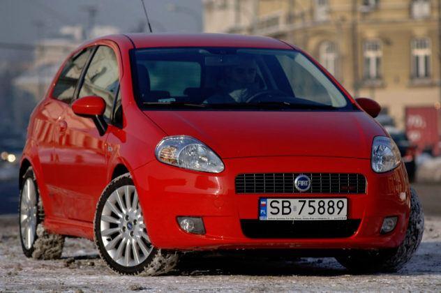 Fiat Grande Punto - przód