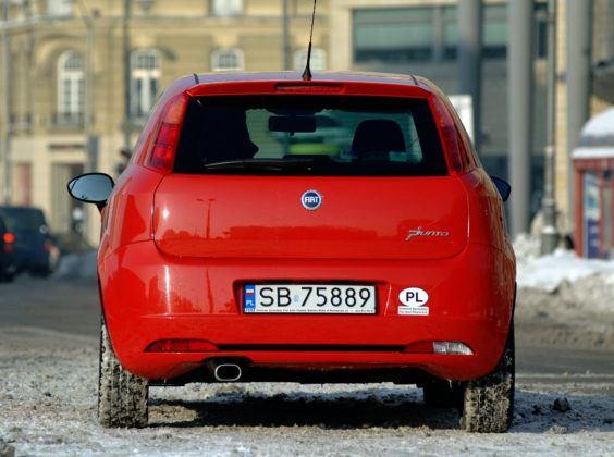 Fiat Grande Punto - tył