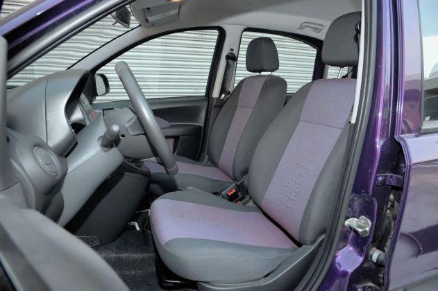 Fiat Panda - fotel kierowcy