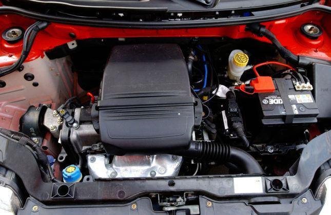 Fiat Panda - silnik