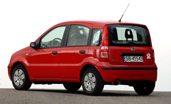 Fiat Panda - tył