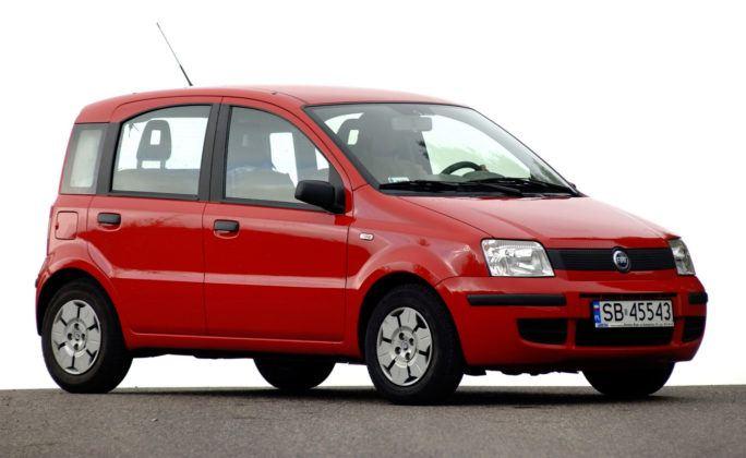 Fiat Panda - przód