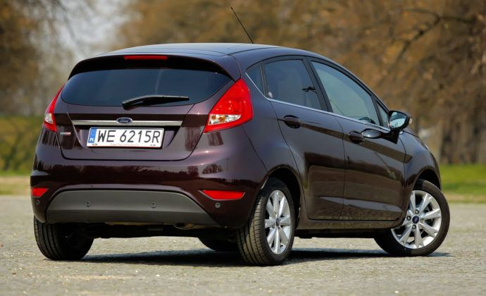 Ford Fiesta - tył