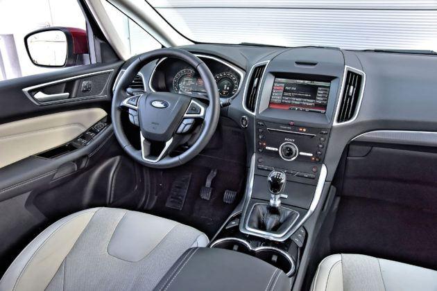 Ford S-Max - widoczność