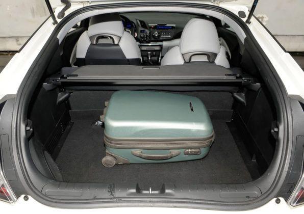 Honda CR-Z - bagażnik