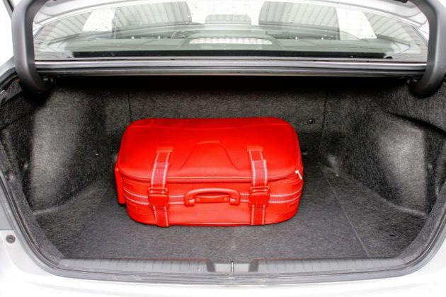 Honda Civic Hybrid - bagażnik