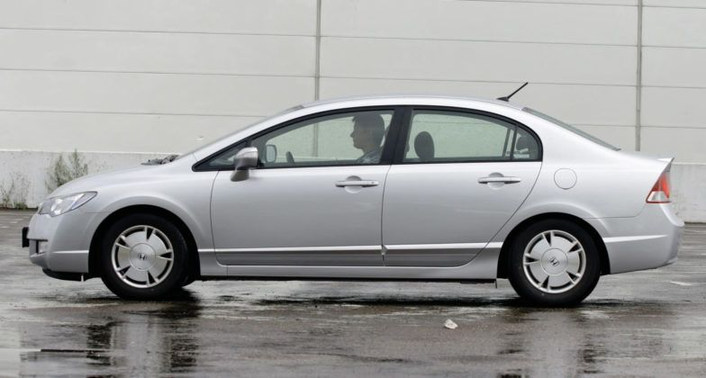 Honda Civic Hybrid - bok