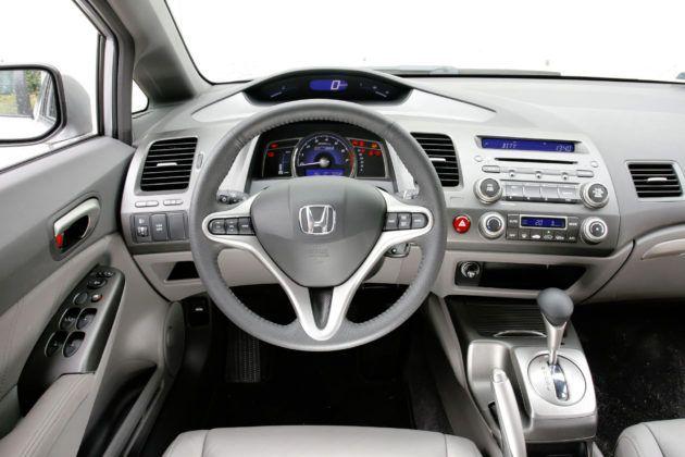 Honda Civic Hybrid - deska rozdzielcza