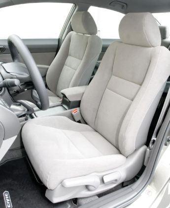 Honda Civic Hybrid - fotel kierowcy