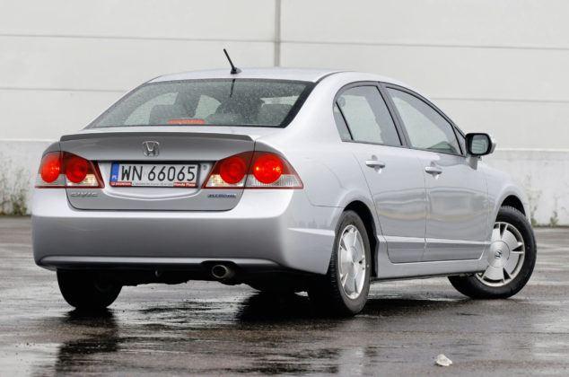 Honda Civic Hybrid - tył
