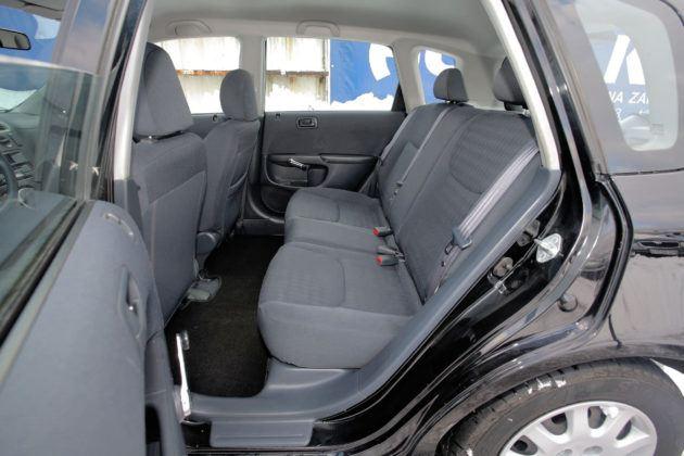Honda Civic - tylna kanapa
