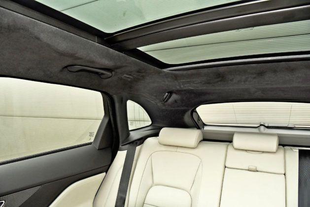 Jaguar F-Pace - widoczność