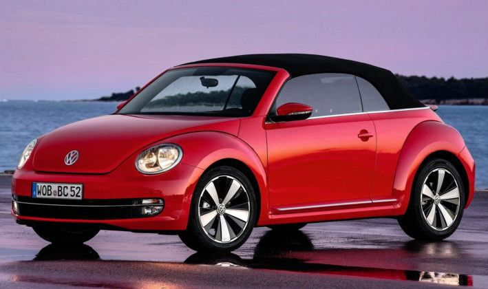 Kabriolety i roadstery - popularne - Volkswagen Beetle Convertible