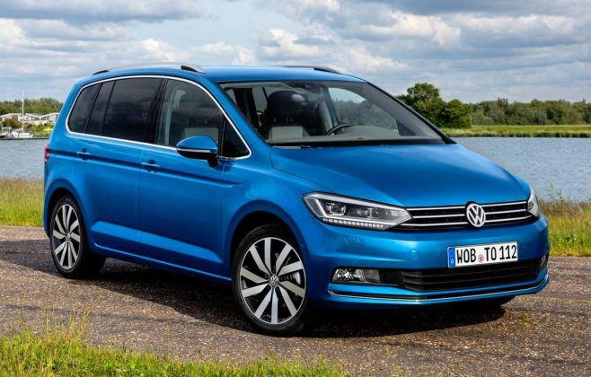 Kompaktowe minivany - popularne - Volkswagen Touran