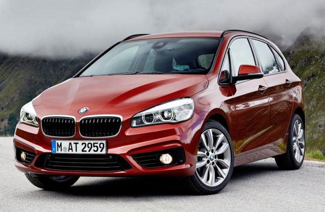 Kompaktowe minivany - premium - BMW serii 2 Active Tourer