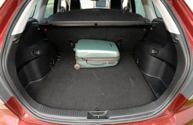 Mazda CX-7 - bagażnik