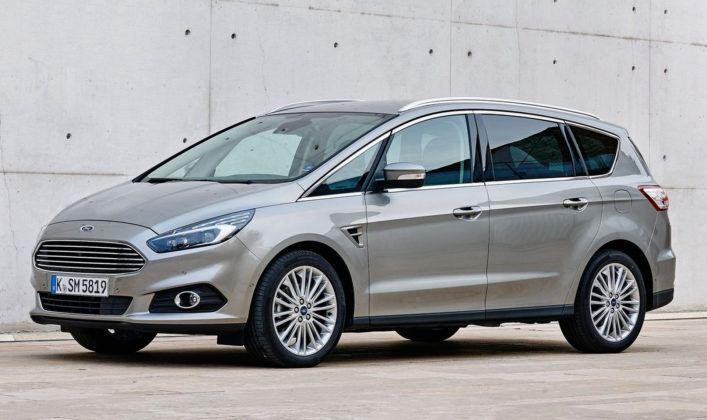 Minivany klasy średniej - popularne - Ford S-Max