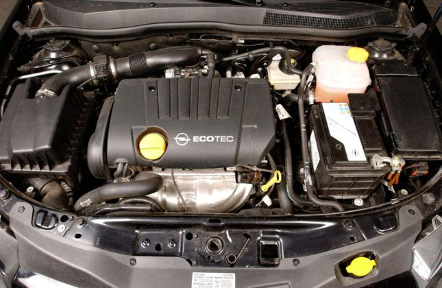 Opel Astra - silnik