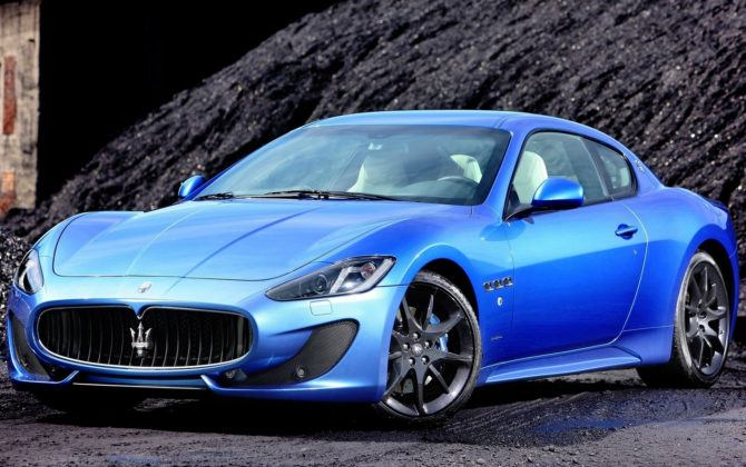 Paul Pogba - Maserati GranTurismo