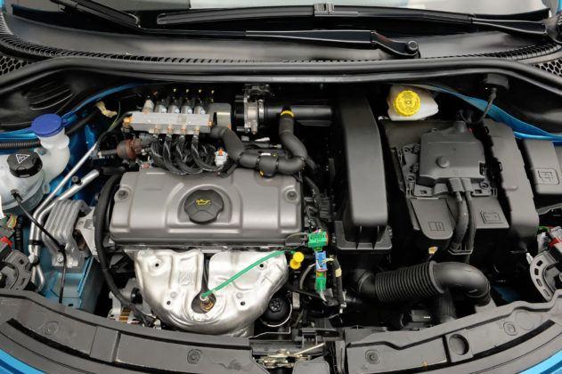Peugeot 207 - silnik