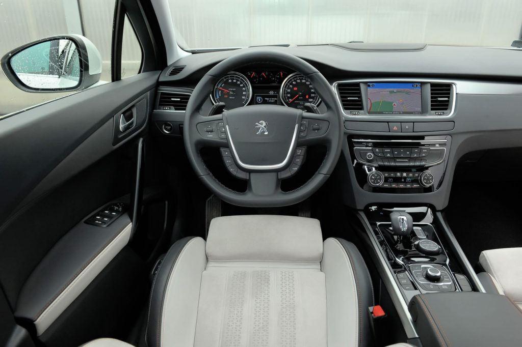 Peugeot 508 RXH - deska rozdzielcza