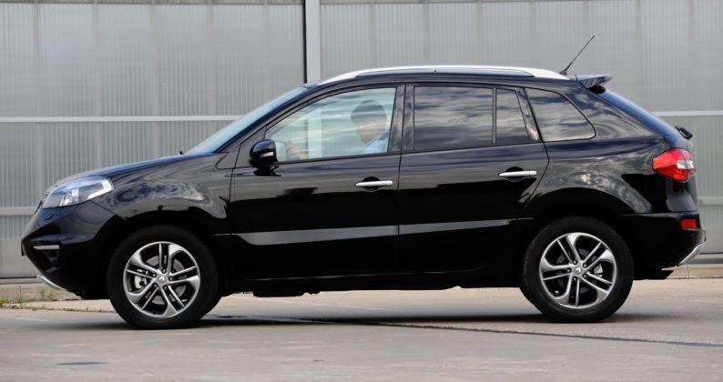 Renault Koleos - bok