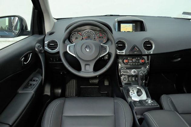 Renault Koleos - deska rozdzielcza