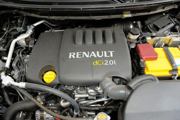 Renault Koleos - silnik