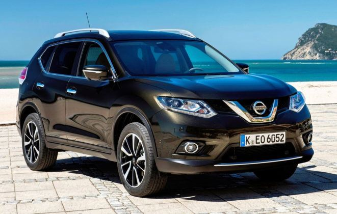 SUV-y klasy średniej - popularne - Nissan X-Trail