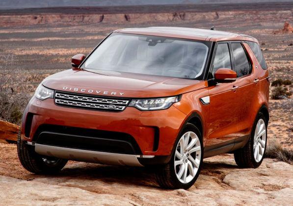 SUV-y klasy wyższej - popularne - Land Rover Discovery