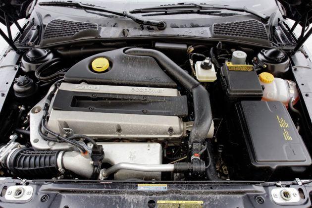 Saab 9-5 - silnik